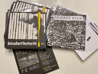 Distro: HUMANT BLOD & BOMBARDEMENT rippersadded