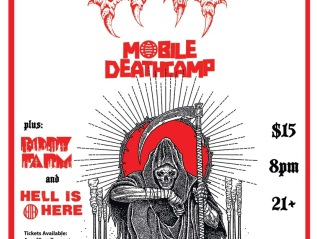 HELL IS HERE w/ BAT, MOBILE DEATH CAMP & BODY FARM @ Ace Of Cups9/10/21